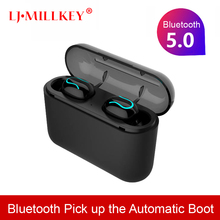 TWS Mini Bluetooth 5.0 Earphone True Wireless Stereo Earbuds Headset With Microphone Charging BOX For Phone YZ270 tws mini bluetooth 5 0 earphone true wireless stereo earbuds headset with microphone charging box for phone yz270