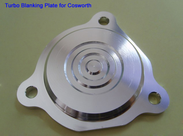 Image 5 - Aluminum Blow Off Valve block plate turbo blanking plate for Ford Cosworth Turbo BOV Sierra Probe pl02