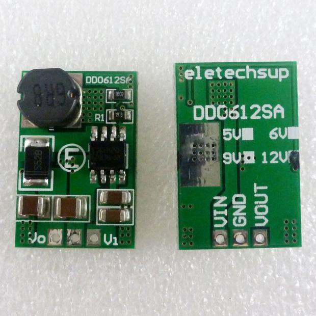 15W 2.6-5V TO 5v 6V 9v 12v DC-DC Step-up Boost Converter Voltage Regulated