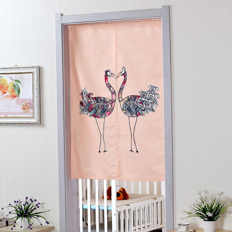 Fabric Door Curtains Vintage Bohemian
