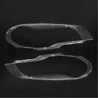 1Pair Car Housing Headlight Lens Clear Shell Cover Lamp Assembly Left Right For BMW 2008 2013