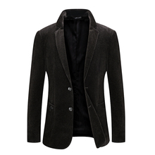 2019 Fashion Autumn&Winter Casual Regular Single Button Thicken Mens Blazers Jacket S-4XL 8827