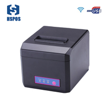 high speed 80mm pos wifi receipt font b printer b font support Multi language and LOGO