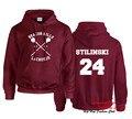 Beacon Hills Lacrosse HOODIE Wolf Teen Stilinski 24 MCCALL 11 LAHEY 14 Sweatshirt S-3XL DKS034TT