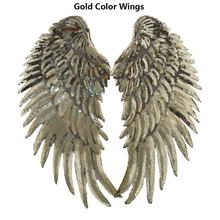 Charm Sequin Iron On Patch Angel Wings DIY Decoration T-shirt Dress Denim Jacket Iron On Sewing For Clothing Embroidered Patches(China)