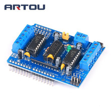 Big Discount ! Motor Drive Shield L293D Module for Arduino Duemilanove Mega / UNO(China)
