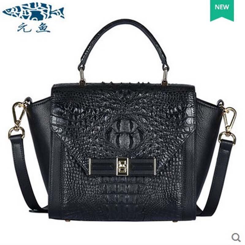 yuanyu 2018 new hot free shipping  thailand crocodile female bag handbag single shoulder bag handbag authentic wings package yuanyu 2018 new hot free shipping crocodile women handbag wrist bag big vintga high end single shoulder bags luxury women bag