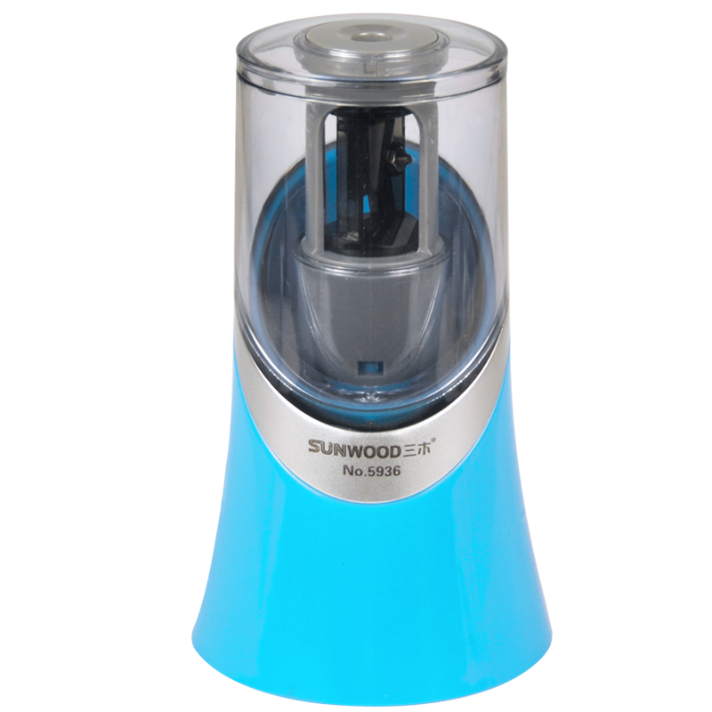 New Stationery Pencil sharpener Home Office school supplies Automatic pencil sharpener deli 0620 manual pencil sharpener heavy duty quiet for office home and school school chancery stationery desk clamp included