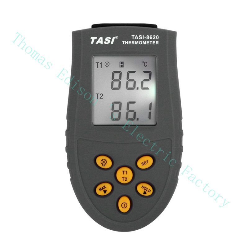 TASI-8620 Portable K TYPE Thermocouple Probe Thermometers Digital Thermometer Temperature Measurement meter -50 ~1350 C casual weaving design card holder handbag hasp wallet for women