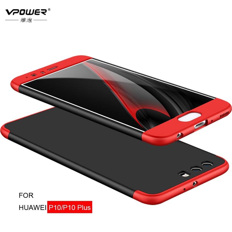 Vpower για Huawei P10 Case Huawei P10 Plus Cover Full Body Body - Ανταλλακτικά και αξεσουάρ κινητών τηλεφώνων - Φωτογραφία 2