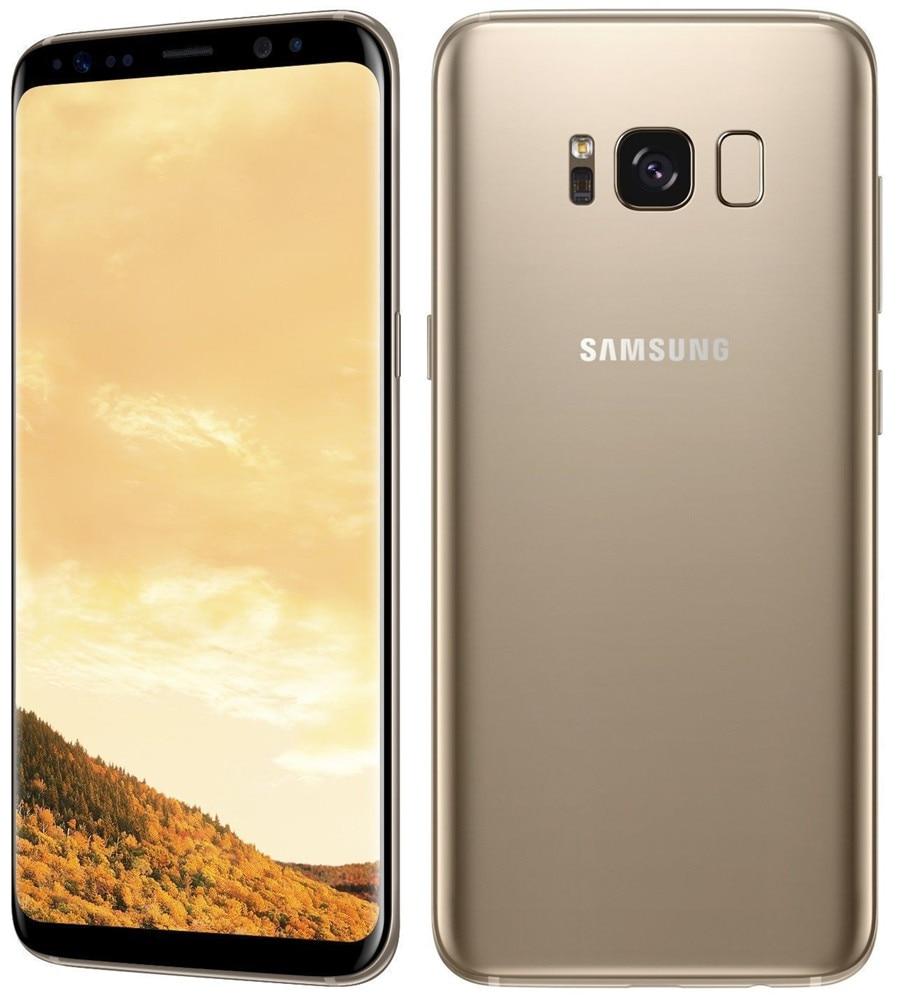 Refurbished Samsung Galaxy S8  64GB ROM+4GB RAM, 3500mAh,12+8MP, 5.8Inch  Dual sim Smartphone silver dual sim 5