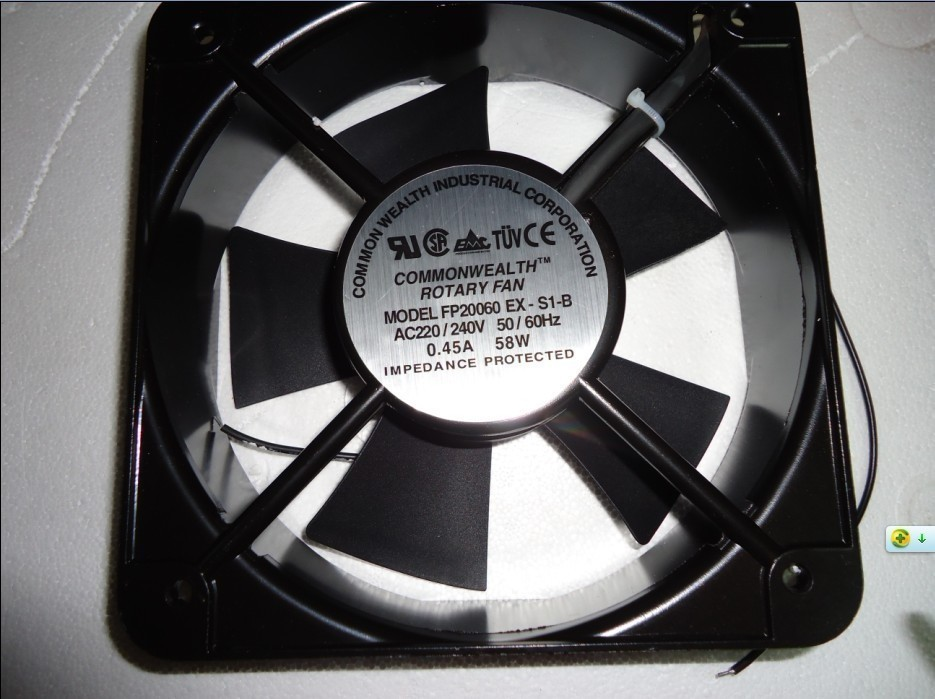 FP20060EX-S1-B Brand New Sankyo 20CM 200*200*60 MM 20060 220V AC double ball bearing case industrial axial fan