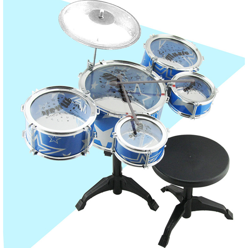 Professional Big jazz drum rack music early childhood educational toys Musical Instruments baby toys for children Kids gift