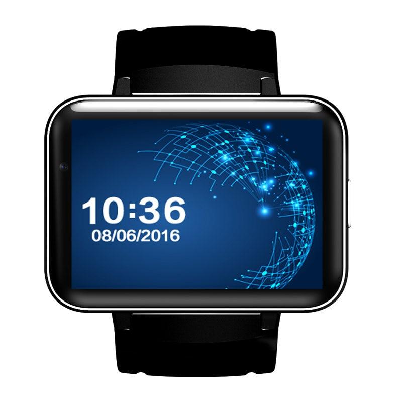 3g smart watch hommes GPS smartwatch 512 mb RAM 4 gb ROM WIFI MTK6572 900 mah batterie 2.2 pouces Grand couleur écran pour iphone 7 8 X