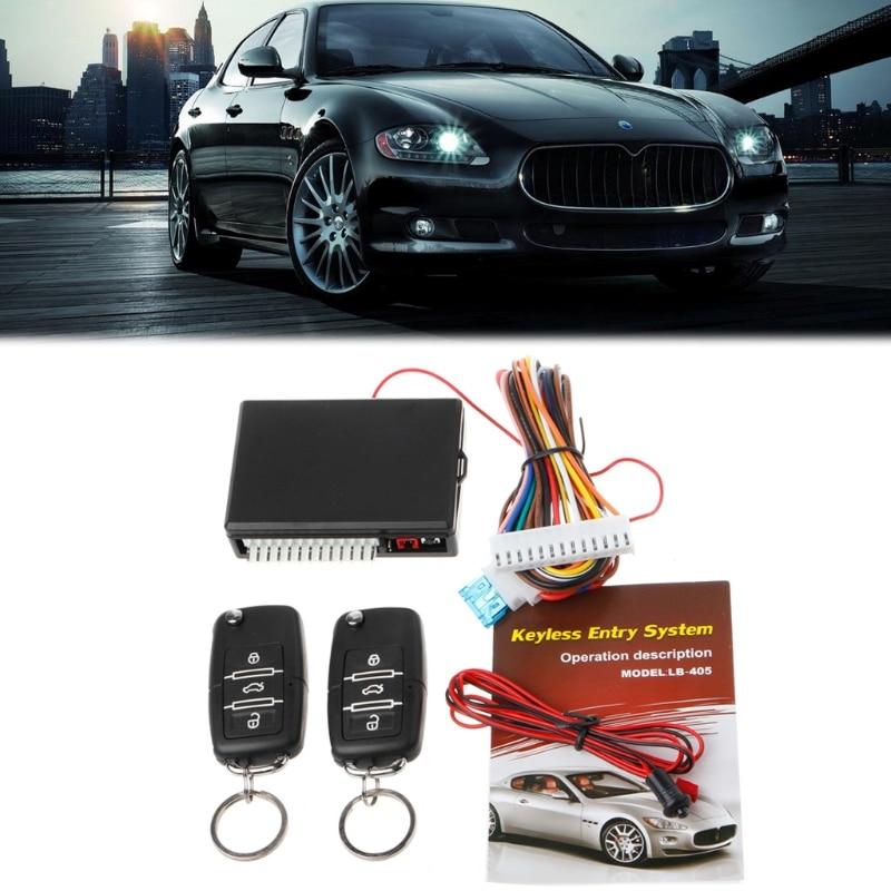 Universal Car Remote Control Central Kit Door Lock Locking Keyless Entry System Car Alarm Security