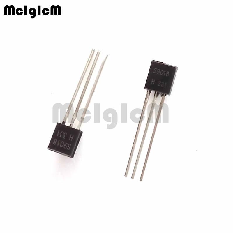 MCIGICM 5000pcs S9018 in line triode transistor TO 92 50MA 30V NPN