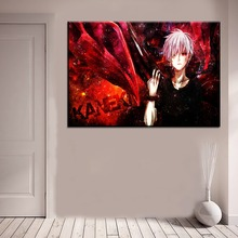 Anime Tokyo Ghoul Canvas HD Print Wall Art (5 Piece)