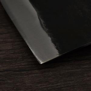 XYj полностью Tang шеф-повар нож ручной работы кованый высокоуглеродистая обшитая сталь кухонные ножи Кливер нарезка нарезки широкий нож