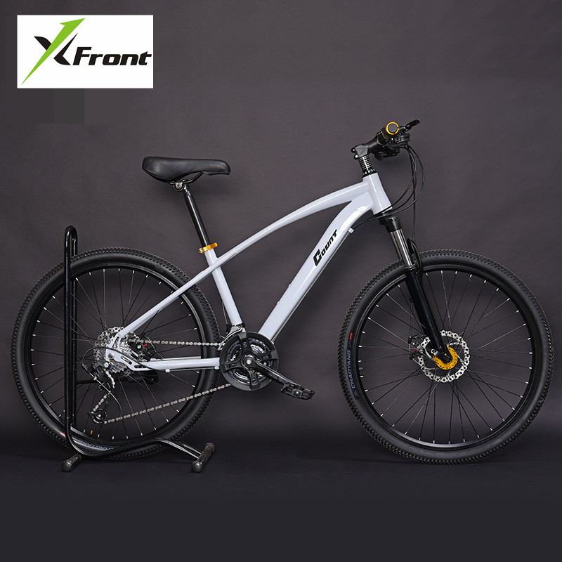 New Brand Mountain Bike Carbon Steel Frame 24 27 30 Speed 24 26 inch Wheel MTB Bicycle Outdoor Sports Downhill Bicicleta image
