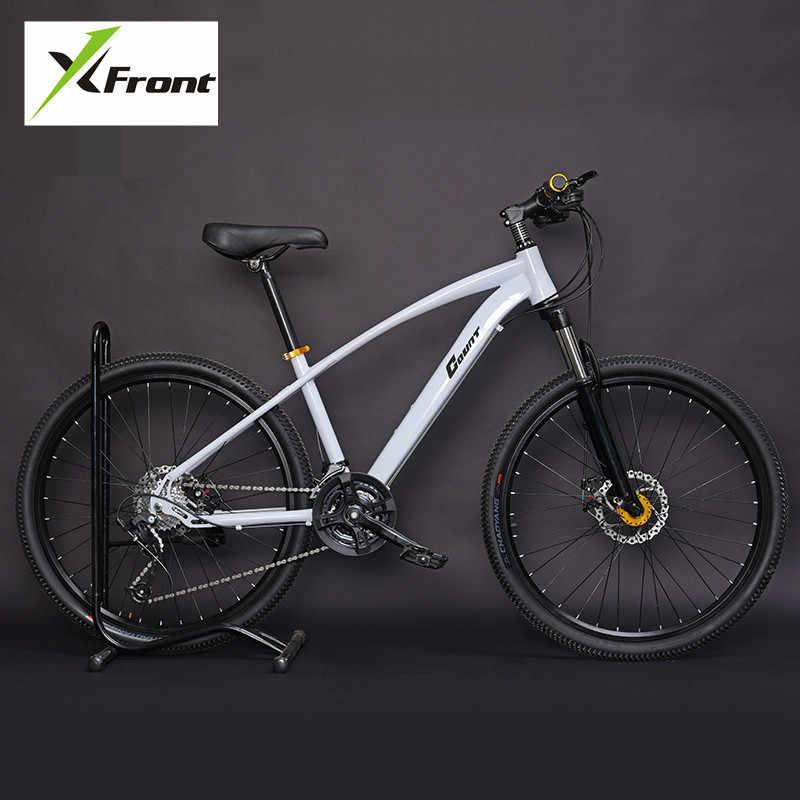 Nova marca mountain bike quadro de aço carbono 24 27 30 velocidade 24 26 polegada roda mtb esportes ao ar livre downhill
