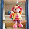 Baby Toys 0-12 Months Bebek Oyuncak W15*H36 Stuffed Plush Baby Rattles Mobiles Brinquedo Para Bebe Stroller Doll For Girls