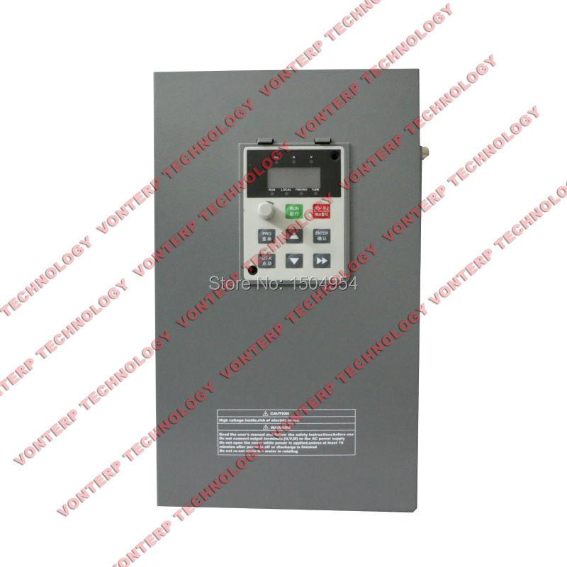 купить 3 phase 380V 30KW 60A VFD AC drive/frequency converter/varaiable frequency drive онлайн