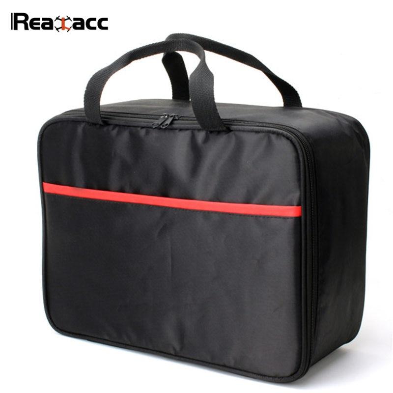 Original Realacc Black Handbag Backpack Case Bag Suitcase For Syma X5C X5S X5SC X5SW X5HW X5HC RC Quadcopter Models original realacc black suitcase backpack carrying case shoulder bag for yuneec typhoon q500 rc quadcopter models accessories