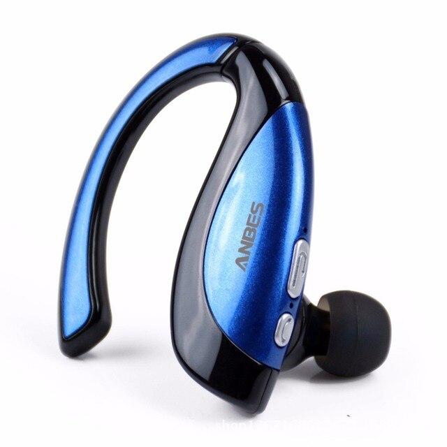 Fone de ouvido bluetooth sem fio fone de ouvido fones de ouvido sweatproof comando de voz fone de ouvido para iphone 6 s, Samsung, HTC etc Preto Azul