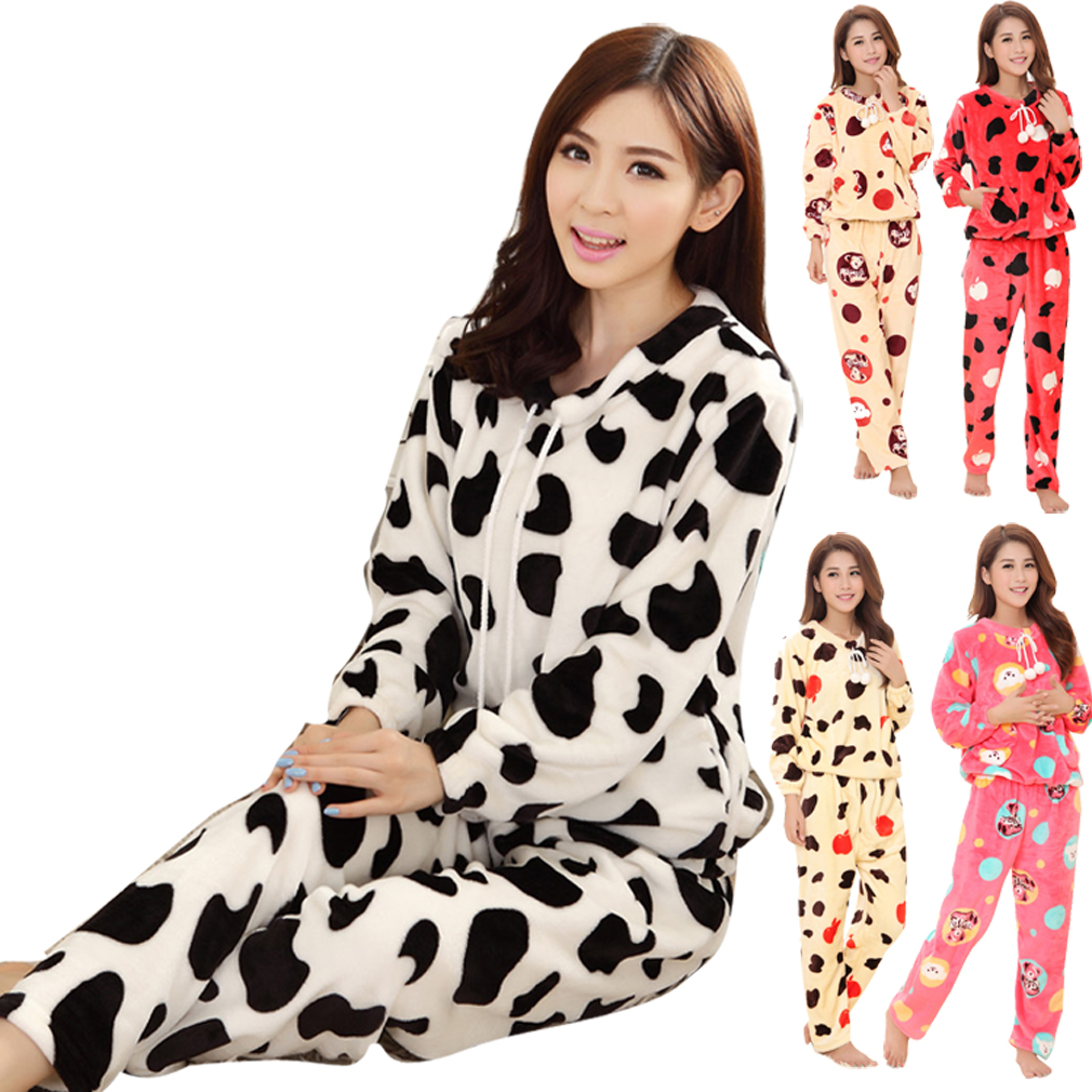 Popular Womens Cow Pajamas-Buy Cheap Womens Cow Pajamas lots from ...