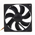 Game Parts  Mute 120mm Computer PC Case 3/4 Pin Cooling Fan with Screw Pad for PC CUP L3EF