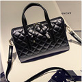 Diamond Lattice Women Bag Designer Handbags High Quality Lady Quilted Plaid Top-handle Bags Leather Women Messenger Bag