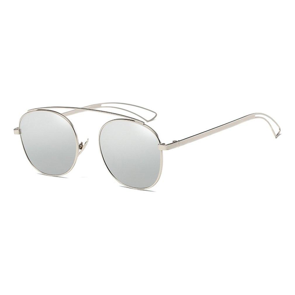 New Brand Designer Vintage round Sunglasses Women Men Metal Frame Sunglasses Color Film Sun Glasses Unisex Eyewear oculos de sol 4