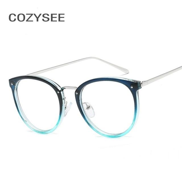 6244b0aa1512 Fashion Trendy Eyeglasses Retro Men Women Designer Eye glasses Male Female  Fake Optical Glasses Frame Eyewear