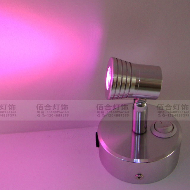 XXDE01 wall light grid shop street lamp comes with wireless power setting Built-in lithium battery LED spotlight 2016 ZZP