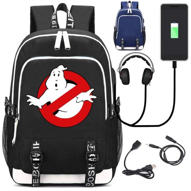 Рюкзак Охотники за привидениями USB зарядка в подарок 1