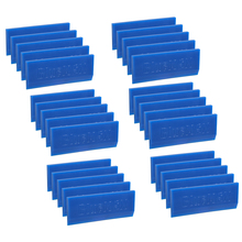 EHDIS 30PCS BlueMAX Ice Scraper Snow Shovel Vinyl Wrap Rubber Blade Window Tint Squeegee Household Car Cleaning Wash Accessories