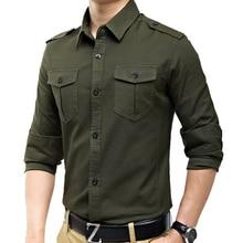 Женская винтажная рубашка в стиле милитари, приталенная рубашка с длинным рукавом, желтого, армейского зеленого цветов, A6620, Новое поступлен...