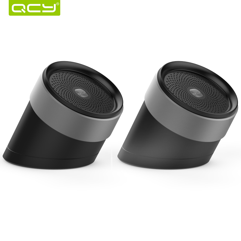 QCY QQ1000 bluetooth speakers 3D stereo metal loudspeaker portable wireless speakers sound system music audio player