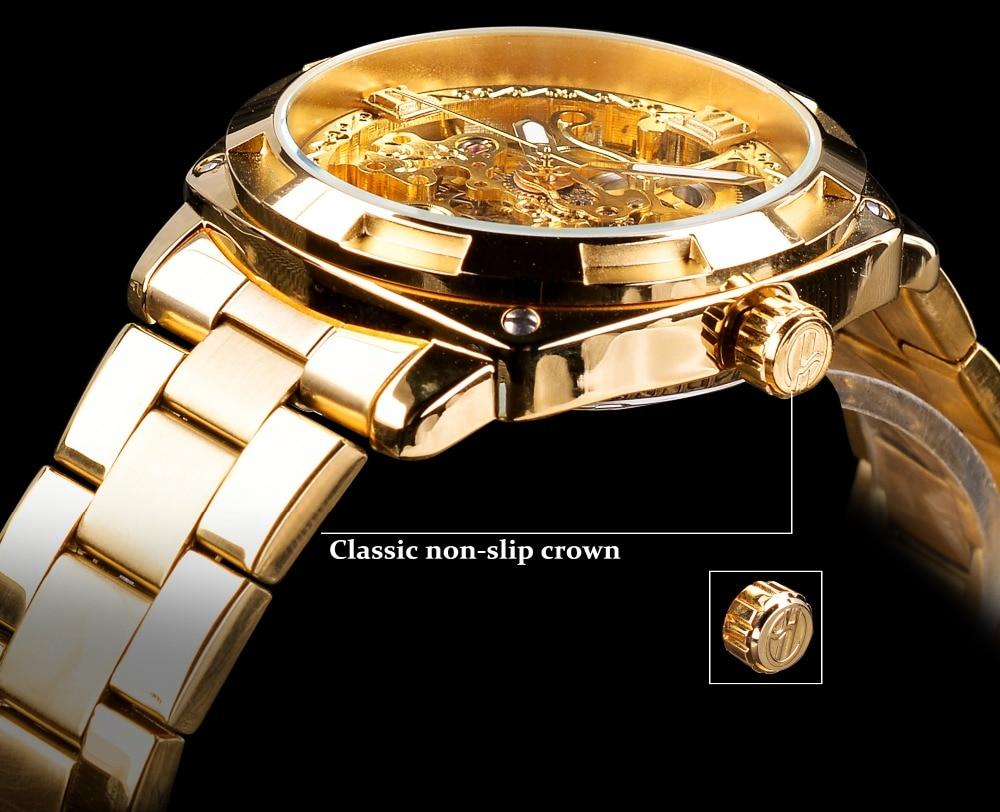 HTB1SiE0CXmWBuNjSspdq6zugXXaR Forsining 2018 Fashion Retro Men's Automatic Mechanical Watch Top Brand Luxury Full Golden Design Luminous Hands Skeleton Clock