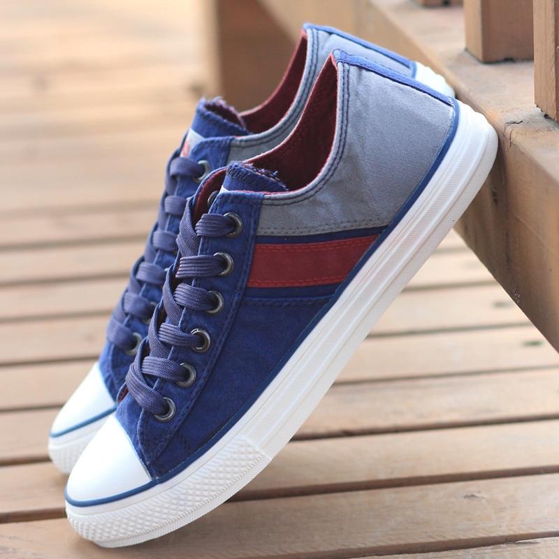 Casual Chaussures Chaussure Mode 3 Classique Zapatillas 9 Hommes Toile Vulcanisé À 5 6 8 1 Homme 2018 Plat 7 4 Sneakers Lacets Hombre 2 FxzwOqOtE