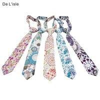 100 Cotton Tie For Children School Kids Pre Tied Necktie Preppy Premium Family Gift Free Shipping