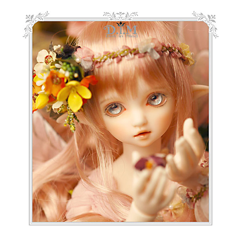 DIM Flowen doll bjd resin figures luts ai yosd kit doll not for sales bb fairyland toy gift iplehouse lati fl fairyland realpuki soso bjd sd doll for sales toy gift