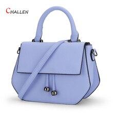 2016หรูหราC Ircularกระเป๋าผู้หญิงกระเป๋าออกแบบที่มีชื่อเสียงสีฟ้าไหล่Crossbodyถุงเย็นเรขาคณิตPuคลัทช์เลดี้Totes y800
