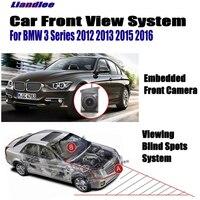 Liandlee Car Front View Camera Logo Camera For BMW 3 E90 E91 E92 E93 F30 F31 F34 2012 2016 LCD Screen Monitor Cigarette Lighter