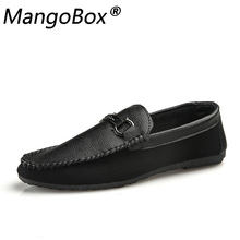 Mens Loafers Driving Shoes Casual Genuine Leather Luxury Brand British 2018 Fashion Man White Red  Black Flat Moccasins Footwear cangma british style men luxury brand shoes suede genuine leather sneakers moccasins green casual shoes man adult mens footwear