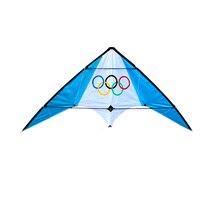 Большой 1,9 м двойной линии трюк кайт Начинающий воздушный змей-параплан летающие инструменты линия kitesurf открытый игрушки Спорт Пляж