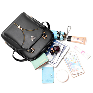 Image 5 - Nevenka anti roubo de couro mochila feminina mini mochilas femininas mochila de viagem para meninas mochilas escolares senhoras saco preto 2018