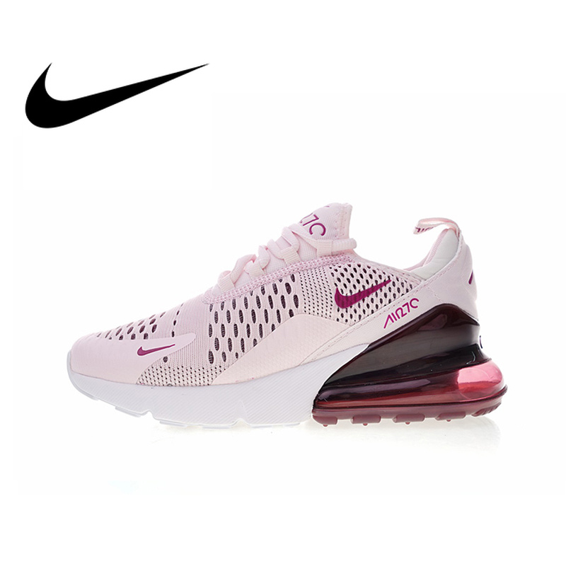 122ef4d90e571 Original Authentic Nike Air Max 270 Womens Running Shoes Sneakers Sport  Outdoor jogging Breathable Comfortable durable