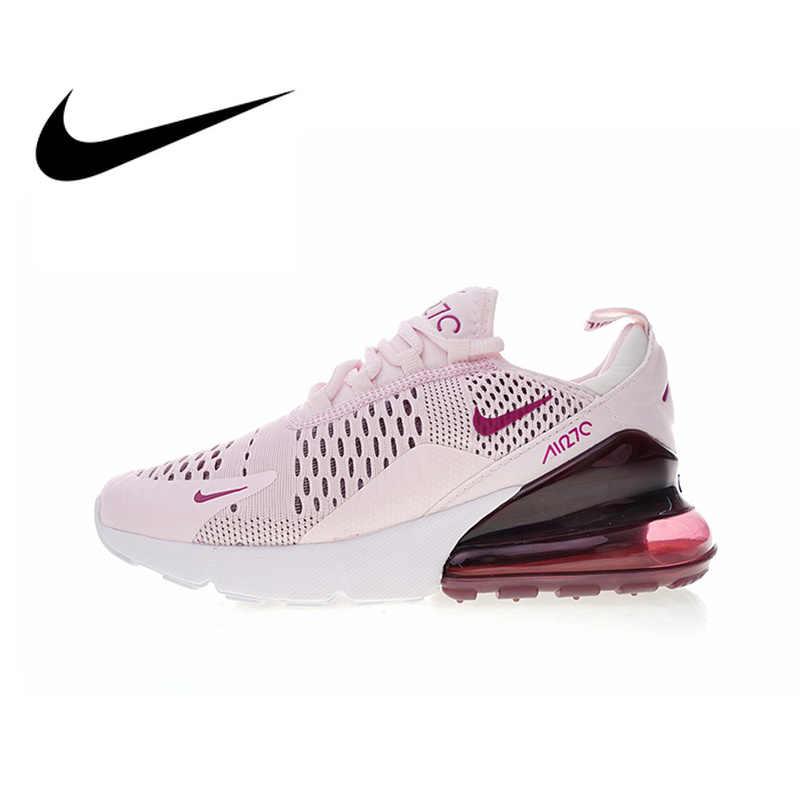 22c04c96 Оригинальный Nike Оригинальные кроссовки Air Max 270 женские кроссовки  спортивная обувь Спорт на открытом воздухе бег