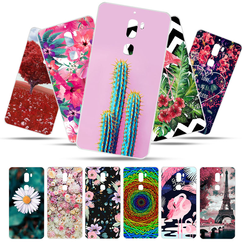 Bolomboy Painted Case For Letv LeEco Cool 1 Case Silicone Soft TPU Cases For Leeco Coolpad Cool 1 Cover Wildflowers Animal Bags